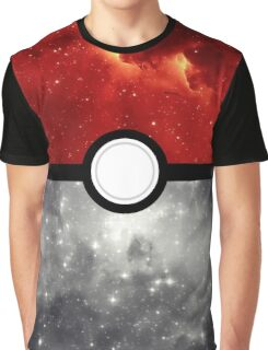 Pokéball Galaxy Graphic T-Shirt