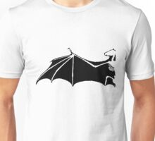 Bat-Wing - Fledermausflügel - Skelett Unisex T-Shirt