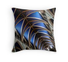 Twinkle Blue Throw Pillow