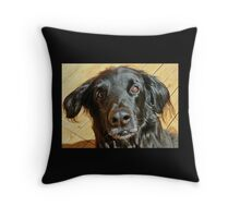 Beau - a search and rescue canine Throw Pillow