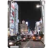 Ginza Streetscape, Chūō, Tokyo iPad Case/Skin