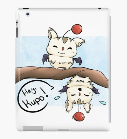 Silly Moogles iPad Case/Skin