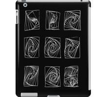 Sound dimensions_black iPad Case/Skin