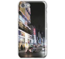 Ginza Streetscape, Chūō, Tokyo iPhone Case/Skin