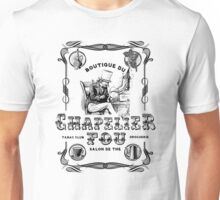 (Vintage French) The Mad Hatter, Le chapelier fou, Alice in Wonderland  Unisex T-Shirt