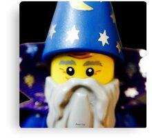 Lego Wizard minifigure Canvas Print