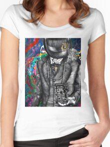 1920's Parisian Photographer Women's Fitted Scoop T-Shirt