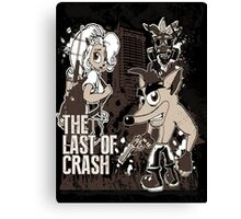 The Last of Crash Canvas Print