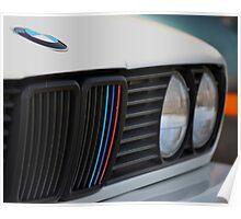 BMW E30 M3 Convertible Poster