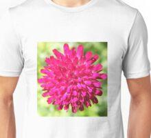 Exploding pink firework flower Unisex T-Shirt