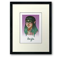Omylia Framed Print