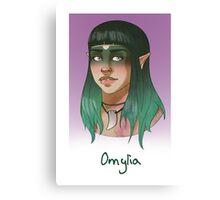 Omylia Canvas Print