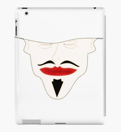 mustache iPad Case/Skin