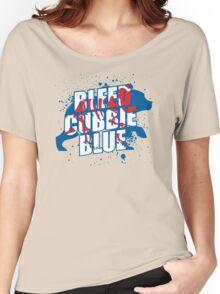 Bleed Cubbie Blue Women's Relaxed Fit T-Shirt