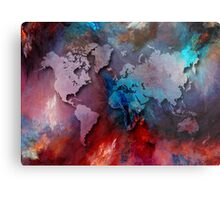 World map special 2 Metal Print