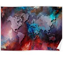 World map special 2 Poster
