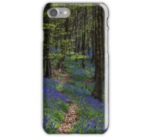 Bluebell trail at Margam woods  iPhone Case/Skin