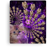 Kitty-rific Canvas Print