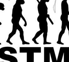 Evolution postman Sticker