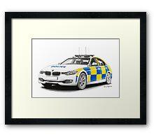 Midlands Police BMW Framed Print