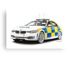 Midlands Police BMW Canvas Print