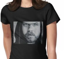 Blue eyed boy Womens Fitted T-Shirt