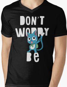 Fairy tail - Don't worry, be happy Mens V-Neck T-Shirt