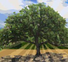 The Lone Oak Sticker