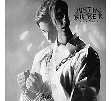 COVER ALBUM TOUR DATES JUSTIN BIBIER in PURPOSE Photographic Print