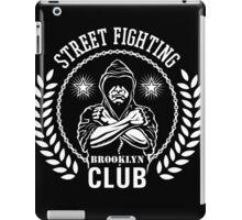 Street fight emblem Brooklyn Club white iPad Case/Skin