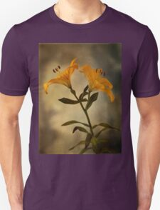 Yellow Lily on stem T-Shirt