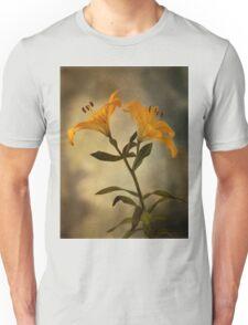 Yellow Lily on stem Unisex T-Shirt