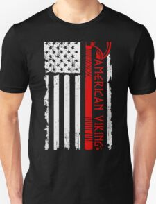 Proud To Be American Viking T-Shirt
