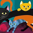 Cats & Kittens by Eivind Vetlesen
