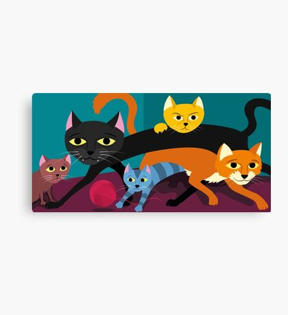 Cats & Kittens Canvas Print