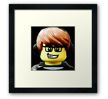 There's a gamer in all of us!! Framed Print