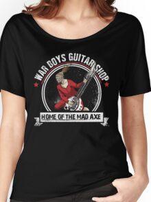 War Boys Guitar Shop Women's Relaxed Fit T-Shirt
