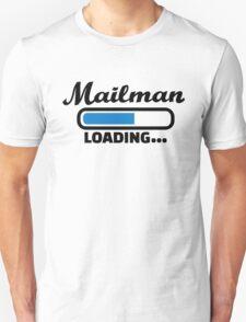 Mailman loading Unisex T-Shirt