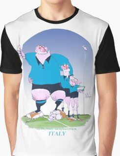 Italian Rugby Chums, tony fernandes Graphic T-Shirt