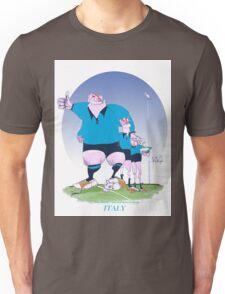 Italian Rugby Chums, tony fernandes Unisex T-Shirt