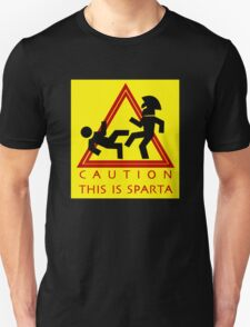 Caution This is Sparta T-Shirt