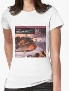 B12 TIME TOURIST Womens Fitted T-Shirt