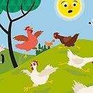 Chicken Run by Eivind Vetlesen