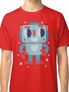 Happy Birthday Robot Card Design Classic T-Shirt