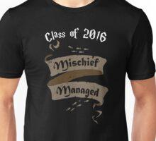 Class of 2016 Mischief Managed Unisex T-Shirt