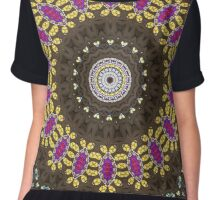 Glass Cathedral Medieval Builders Reboot Chiffon Top