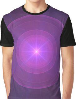 Mew's Energy | Original Fractal Art Graphic T-Shirt