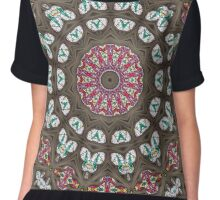 Glass Cathedral Medieval Builders Twenty Chiffon Top