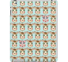 Cute Cows and Pig Pattern iPad Case/Skin