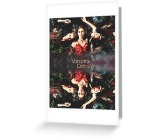 'The Vampire Diaries' Merchandise Greeting Card